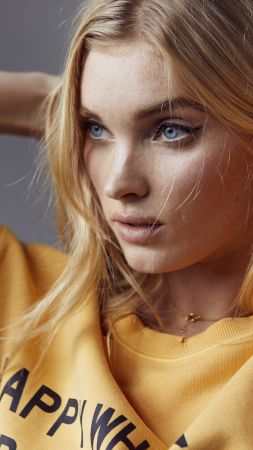 Elsa Hosk, beauty, Victoria's Secret Angel, blonde, 5k (vertical)