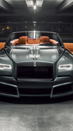 Rolls-Royce Dawn Overdose, 2018 Cars, 4k (vertical)