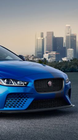 Jaguar XE SV Project 8, 2018 Cars, 4k (vertical)