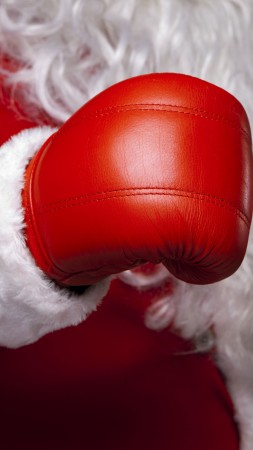Christmas, New Year, Santa, boxing, red, 5k (vertical)