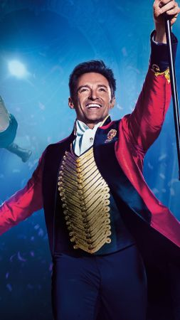 The Greatest Showman, Hugh Jackman, Rebecca Ferguson, Michelle Williams, 5k (vertical)