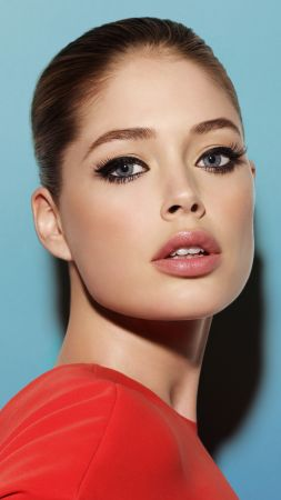 Doutzen Kroes, beauty, brunette, 5k (vertical)