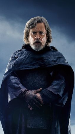 Star Wars: The Last Jedi, Mark Hamill, 5k (vertical)