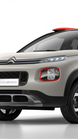 Citroen C3 Aircross, 2018 Cars, 5k (vertical)