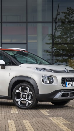 Citroen C3 Aircross, 2018 Cars, 4k (vertical)