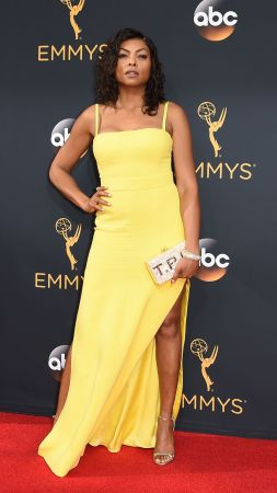 Taraji P. Henson, dress, 4k (vertical)