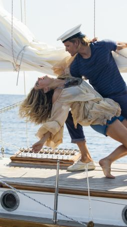 Mamma Mia! Here We Go Again, Lily James, Jeremy Irvine, 8k (vertical)