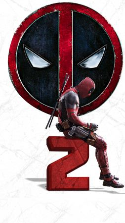 Deadpool 2, 4k (vertical)