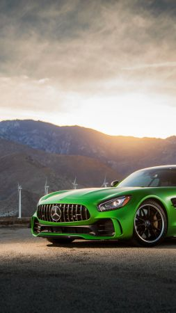 Mercedes Amg Gtr, 2018 Cars, 4k (vertical)