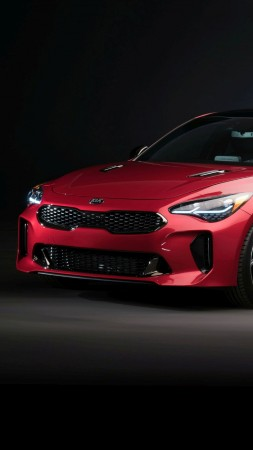 Kia Stinger, 2018 Cars, 4k (vertical)
