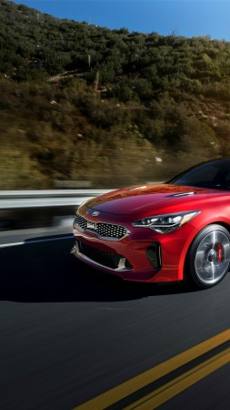Kia Stinger, 2018 Cars, 5k (vertical)