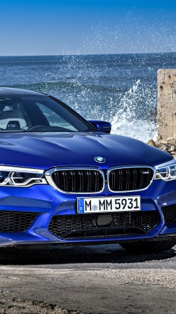 BMW M5, Cars 2018, 5k (vertical)