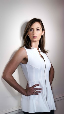 Emily Blunt, beauty, brunette, 5k (vertical)