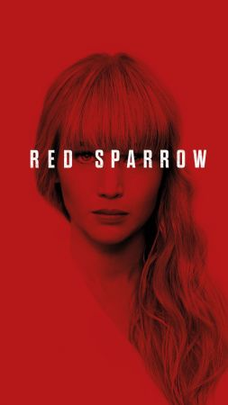 Red Sparrow, Jennifer Lawrence, poster, 4k (vertical)