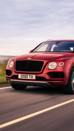 Bentley Bentayga V8, 2018 Cars, 4k (vertical)