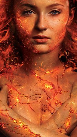 X-Men: Dark Phoenix, Sophie Turner, 5k (vertical)