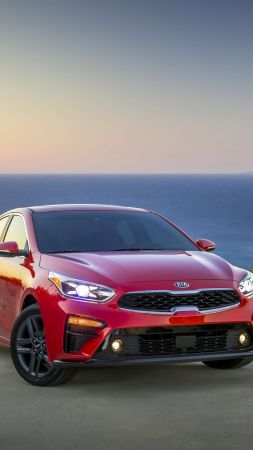 Kia Forte, 2018 Cars, 4k (vertical)