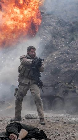 12 Strong, Chris Hemsworth, 5k (vertical)