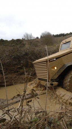 Ocelot, Foxhound, Force Protection, armoured vehicle, LPPV, MRAP, British Army (vertical)