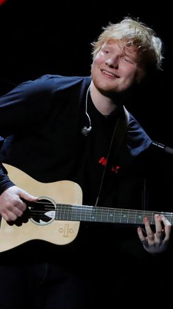 Ed Sheeran, photo, Grammy 2018, 4k (vertical)