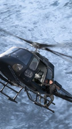 Mission: Impossible - Fallout, Tom Cruise, 8k (vertical)