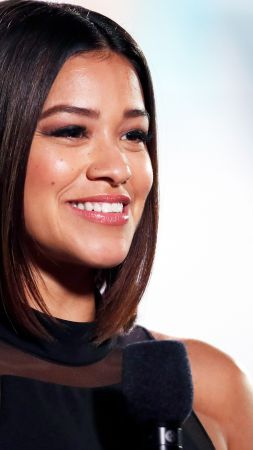 Gina Rodriguez, photo, 4k (vertical)