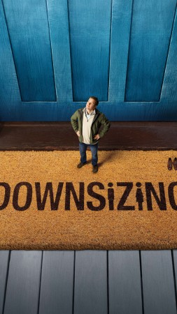 Downsizing, Matt Damon, 5k (vertical)