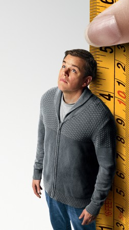 Downsizing, Matt Damon, 4k (vertical)