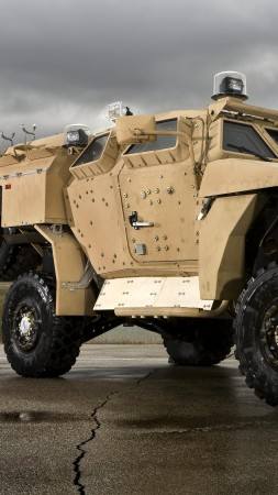 M-ATV, Oshkosh, MRAP, TerraMax, infantry mobility vehicle, runway (vertical)