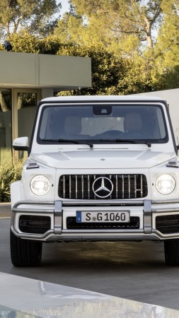 Mercedes-Benz AMG G 63, 2018 Cars, 5k (vertical)
