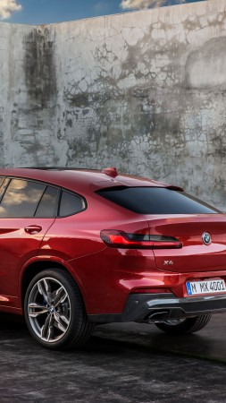 BMW X4, 2018 Cars, 4k (vertical)