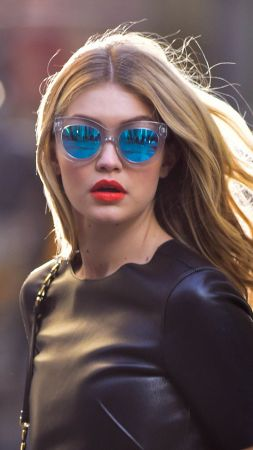 Gigi Hadid, hot, 4k (vertical)