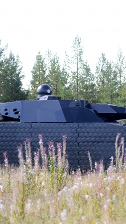 PL-01, light tank, modern weapon, BAE Systems, concept, stealth, futuristic, STANAG, Poland (vertical)