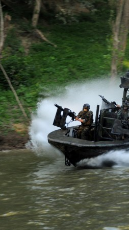 SBT-22, special forces, special boat team, Riverine, SOC-R, battle boat, river (vertical)