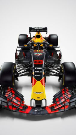 Aston Martin, Red Bull Racing F1, Geneva Motor Show 2018, 4k, Cars 2018 (vertical)