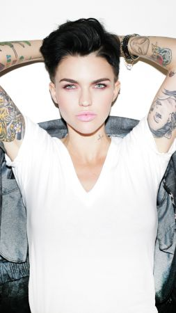 Ruby Rose, photo, 4k (vertical)