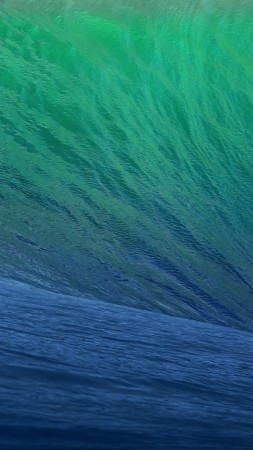 OSX, 5k, 4k wallpaper, 8k, Wave, Blue, Big (vertical)