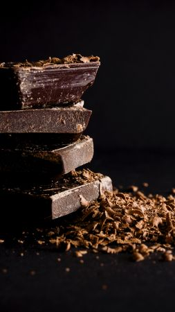 chocolate, delicious, 4k (vertical)