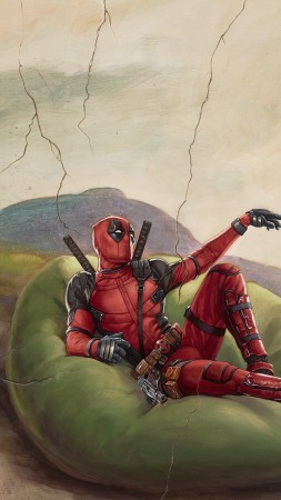 Deadpool 2, Ryan Reynolds, Josh Brolin, HD (vertical)