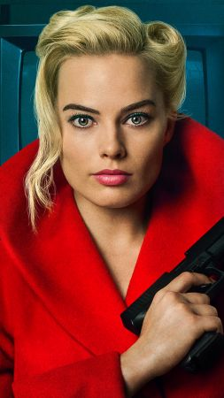 Terminal, Margot Robbie, 4k (vertical)