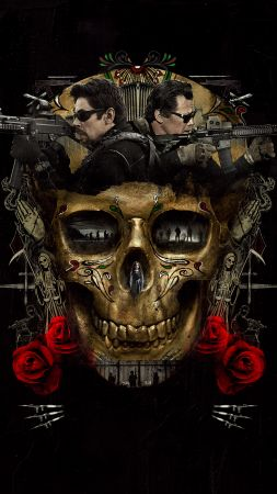 Sicario: Day Of The Soldado, Josh Brolin, Benicio Del Toro, 8k (vertical)