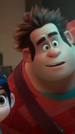 Ralph Breaks the Internet: Wreck-It Ralph 2, 4k (vertical)