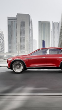 Vision Mercedes-Maybach Ultimate Luxury, electric cars, 8k (vertical)