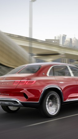 Vision Mercedes-Maybach Ultimate Luxury, electric cars, 5k (vertical)