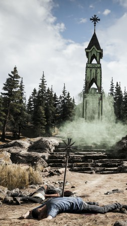 Far Cry 5, Hope County, screenshot, Think Divine, 4K (vertical)