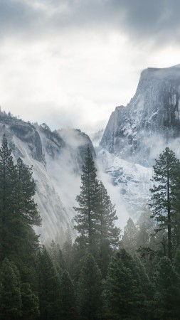 Mountains Yosemite 5k 4k Wallpaper 8k Forest OSX Apple