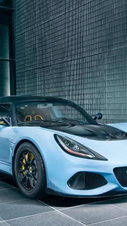 Lotus Exige Sport 410, roadster, 2019 Cars, 4K (vertical)