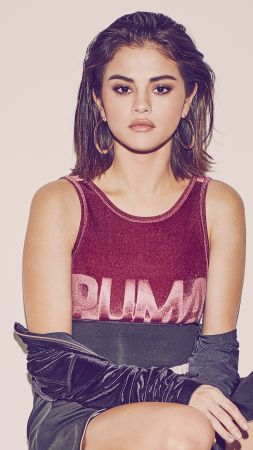 Selena Gomez, Puma, photo, 4K, 5K (vertical)