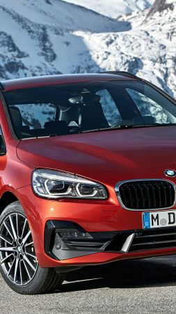 BMW 2-Series Active Tourer, 2019 Cars, 4K (vertical)