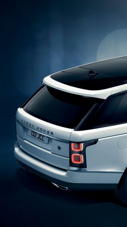 Land Rover Range Rover SV Coupe, 2019 Cars, SUV, 4K (vertical)